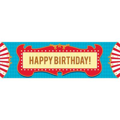 Carnival Games Birthday Banner