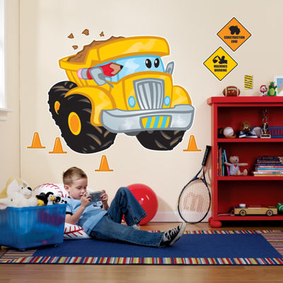 Buyseasons Construction Pals Giant Wall Decals