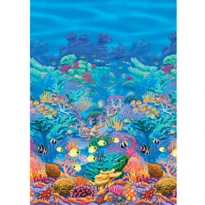 Coral Reef Room Roll
