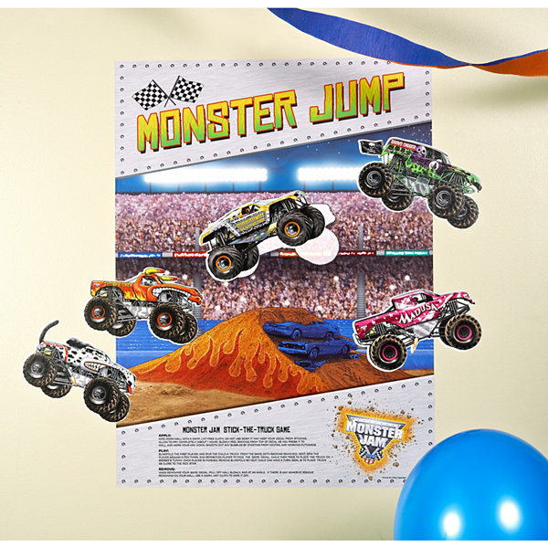"Monster Jam 3D ""Stick the X"" Game"""