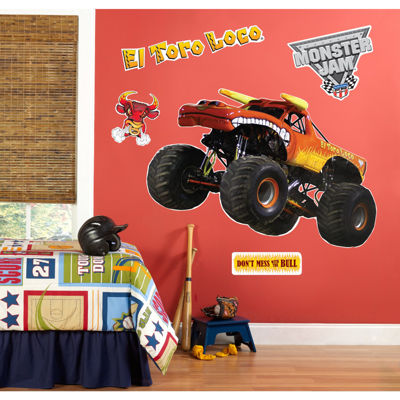 Monster Jam El Toro Giant Wall Decal