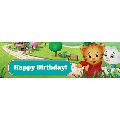 Daniel Tiger's Neighborhood Birthday Banner