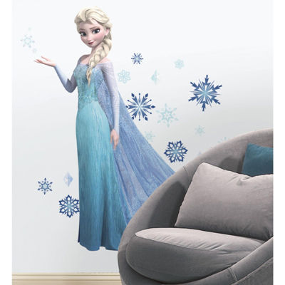 Disney Frozen Elsa Peel and Stick Giant Wall Decals