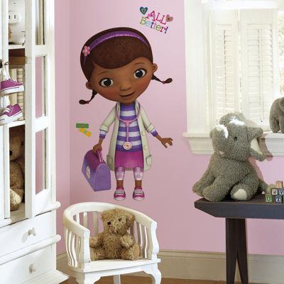 Disney Junior Doc McStuffins Giant Wall Decals