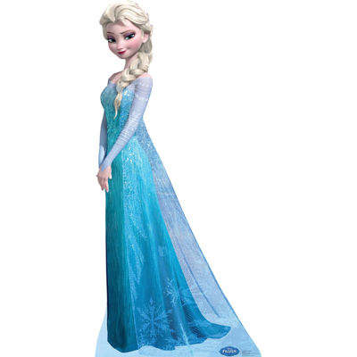 Disney Frozen Snow Queen Elsa Standup - 6' Tall