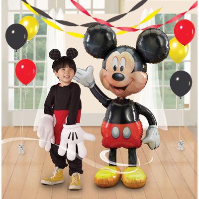 """Disney Mickey Mouse Airwalker 52"""" Jumbo Foil Balloon"""""""