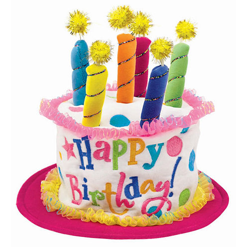 Girl Birthday Cake Hat