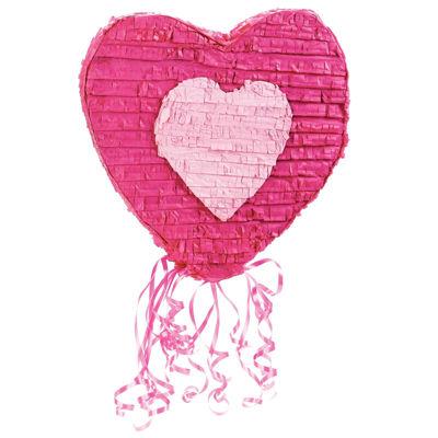 """Heart 20"""" Pull-String Pinata"""""""