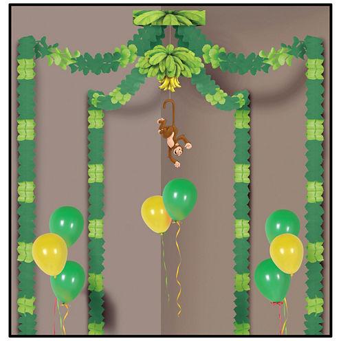 Jungle Monkey Party Canopy