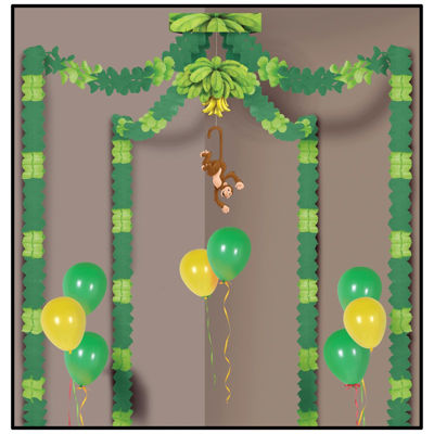Jungle Monkey Party Canopy