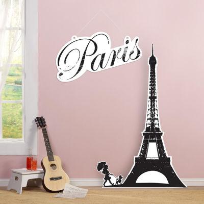Paris Damask Standup - 3' Tall