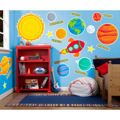 Planets & Space Giant Wall Decal