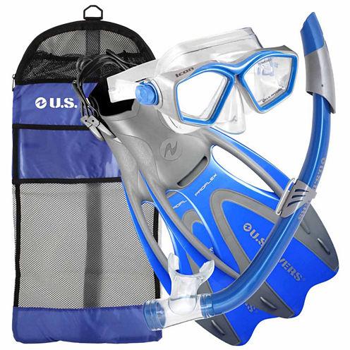 Us Driver Iconseabreezeproflexgearbagbls Snorkel Set