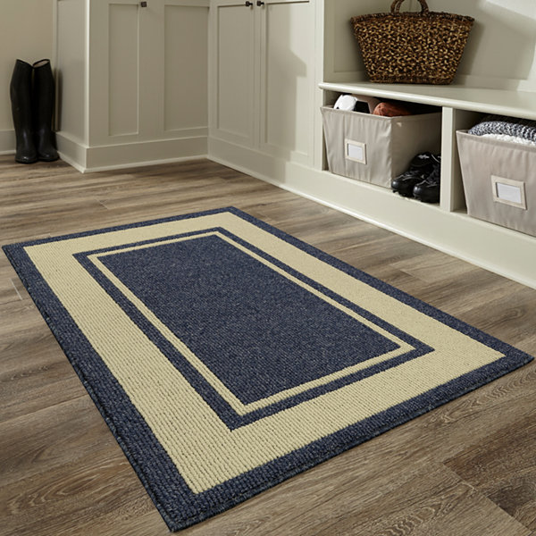 Home Expressions Borders Rectangular Rugs