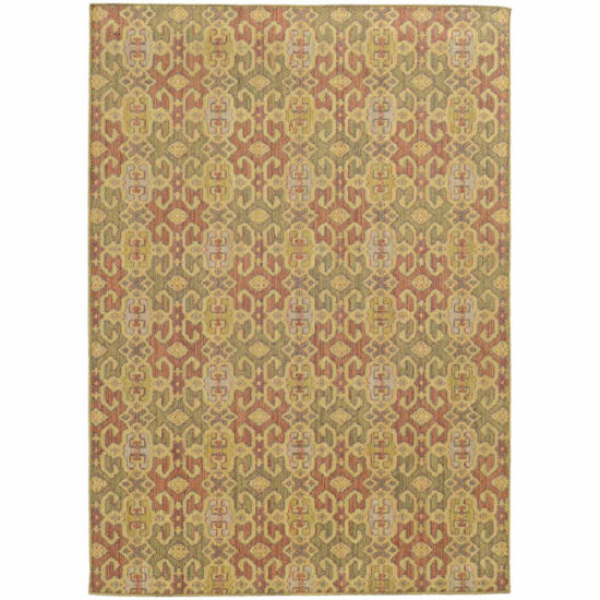 Covington Home Carmen Zingaro Rectangular Indoor/Outdoor Accent Rug
