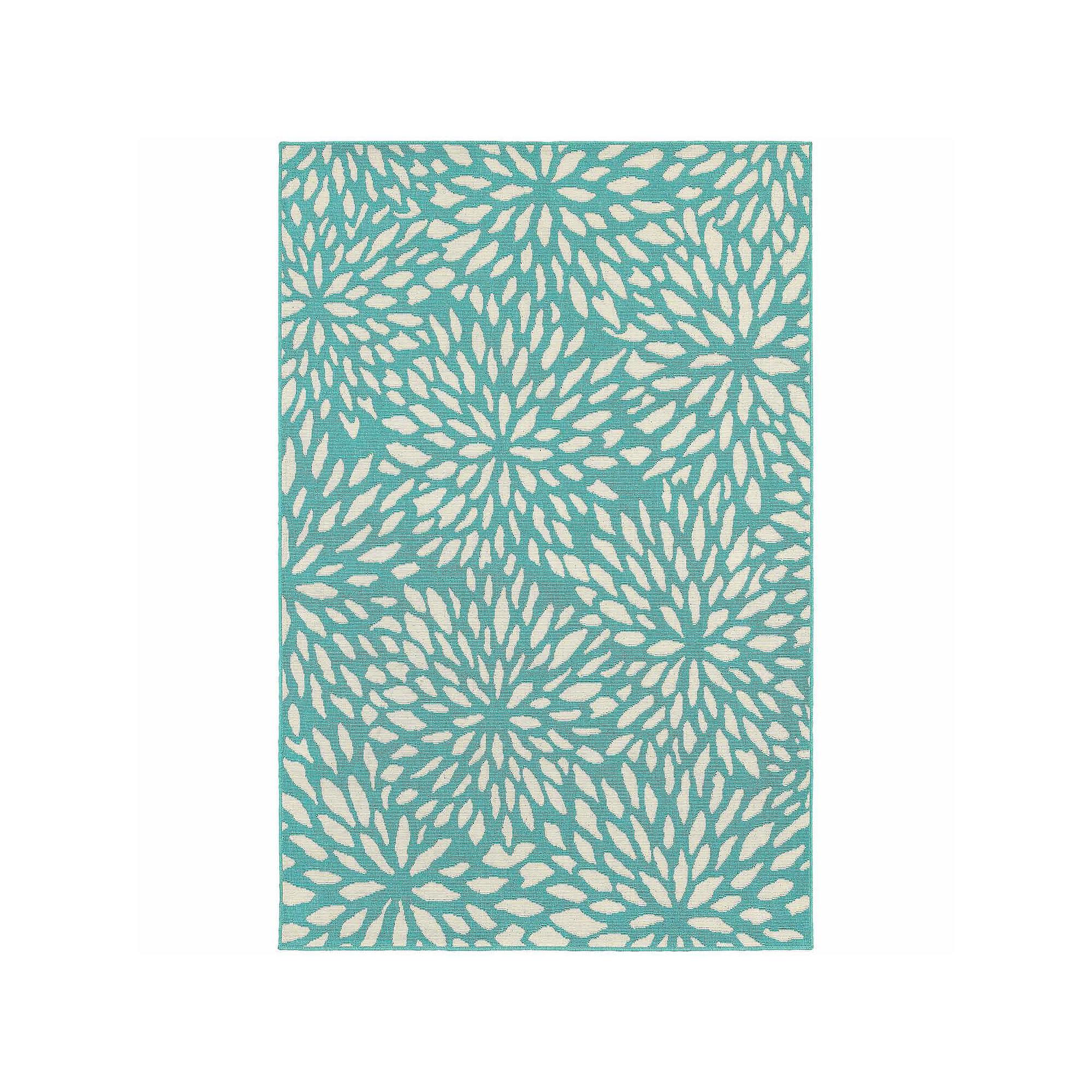 Covington Home Marathon Chrysanthemum Rectangular Rugs