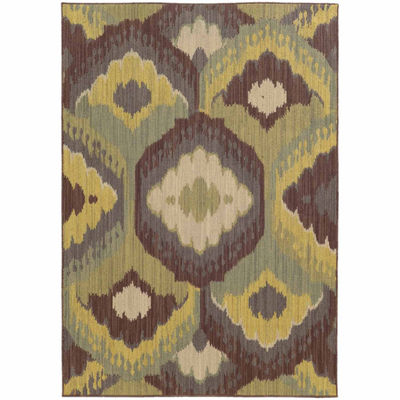 Covington Home Carmen Tache Rectangular Indoor/Outdoor Rugs