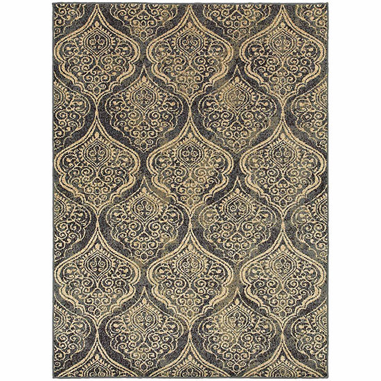 Covington Home Sterling Mehndi Rectangular Indoor Rugs
