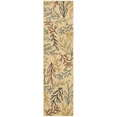 Covington Home Sterling Leaves Rectangular Rugs