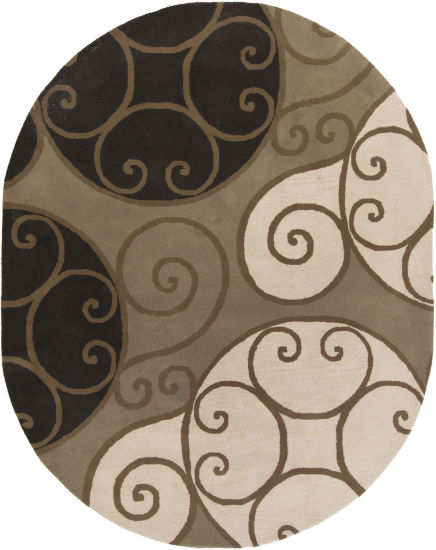 Decor 140 Biltmore Hand Tufted Oval Rugs