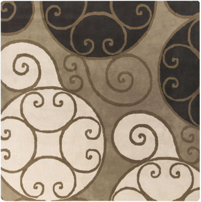 Decor 140 Biltmore Hand Tufted Square Indoor Rugs