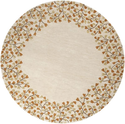 Decor 140 Canaan Hand Tufted Round Indoor Rugs