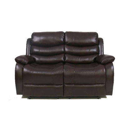 Richmond Collection Pad-Arm Upholstered Loveseat