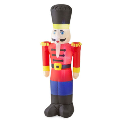 North Pole Trading Co. 3.5ft Soldiers Outdoor Inflatable