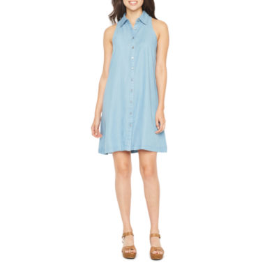 Spense Sleeveless A-Line Dress