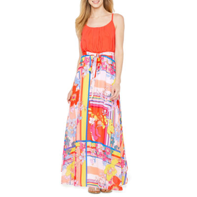 Robbie Bee Sleeveless Maxi Dress