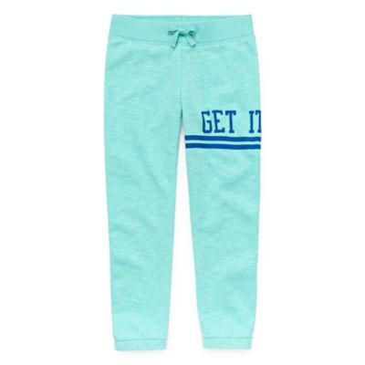 Xersion Cotton Fleece Jogger Pants - Girls' Pre-School