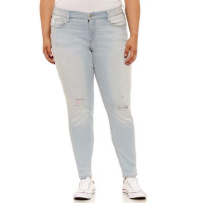 Arizona Skinny Fit Jean-Juniors Plus