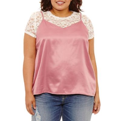 Arizona 2Fer T-Shirt- Juniors Plus