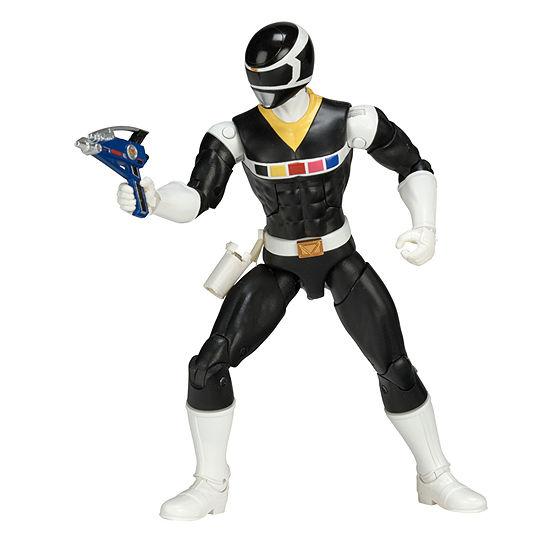 Power Rangers In Space Legacy Black Ranger Action Figure
