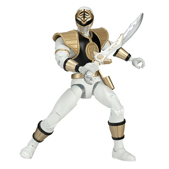 Power Rangers Legacy Mighty Morphin White Ranger Action Figure