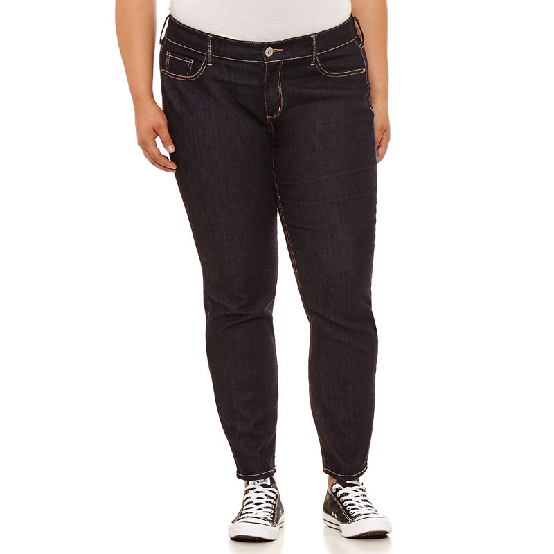 Arizona Super Skinny Jeans-Juniors Plus plus size,  plus size fashion plus size appare