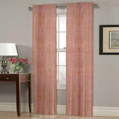Homewear Heather Rod-Pocket Curtain Panel