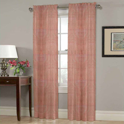 Homewear Heather Rod-Pocket Curtain Panel