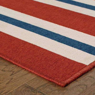 Covington Home Marathon Stripes Rectangular Rugs