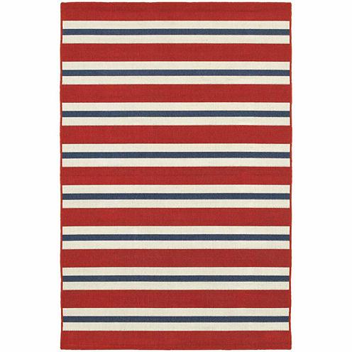 Covington Home Marathon Stripes Rectangular Rugs