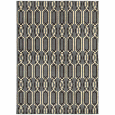 Covington Home Sterling Helix Rectangular Rugs