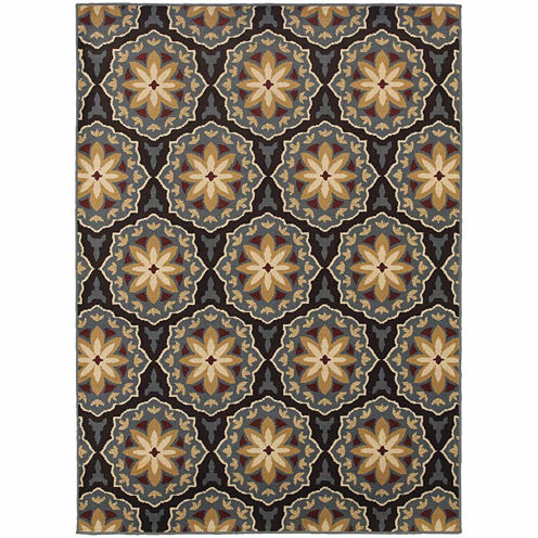 Covington Home Sterling Marguerite Rectangular Rugs