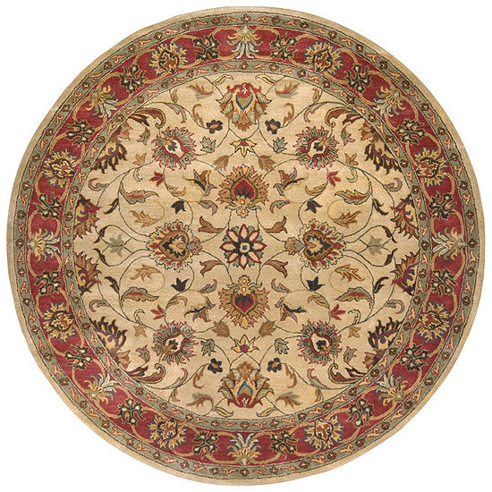 Decor 140 Adley Hand Tufted Round Indoor Rugs