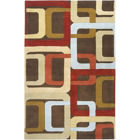 Decor 140 Garsnas Hand Tufted Rectangular Indoor Rugs, One Size , Orange
