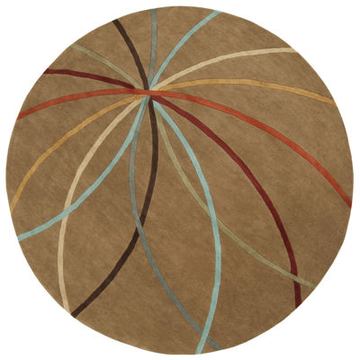 Decor 140 Obihiro Hand Tufted Round Indoor Area Rug