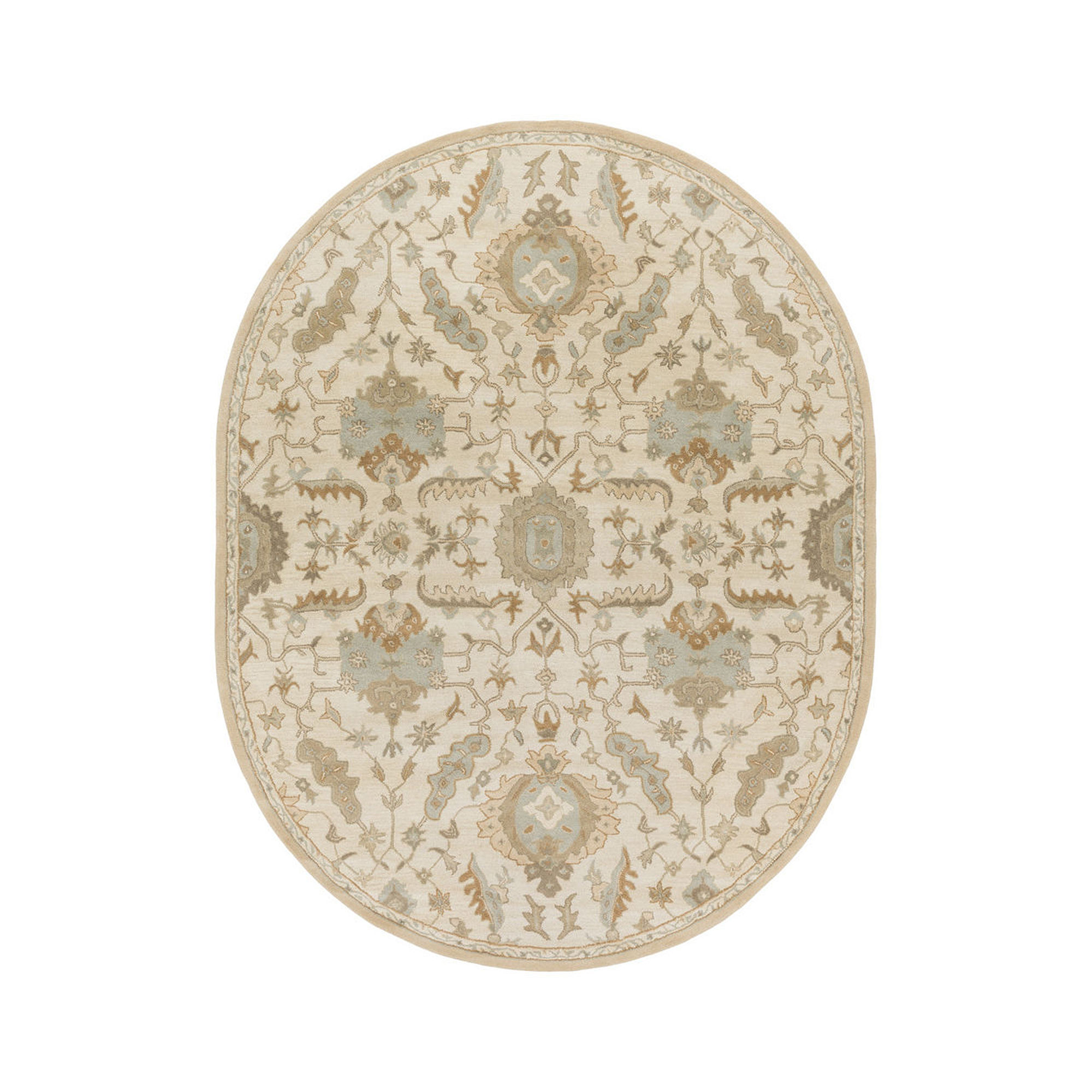 Decor 140 Matthias Hand Tufted Oval Rugs
