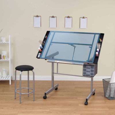 2-Pc. Vision Craft Center Standing Desk