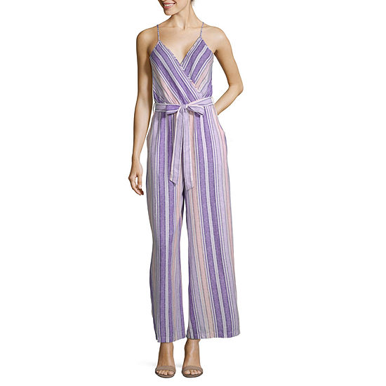 a.n.a Sleeveless Belted Jumpsuit