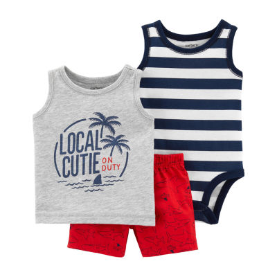 Carter's 3-pc. Short Set Boys