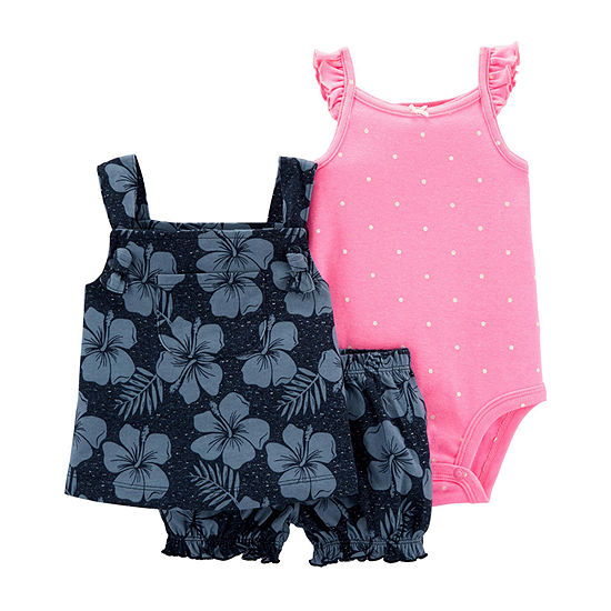 Carters Short Set Baby Girls